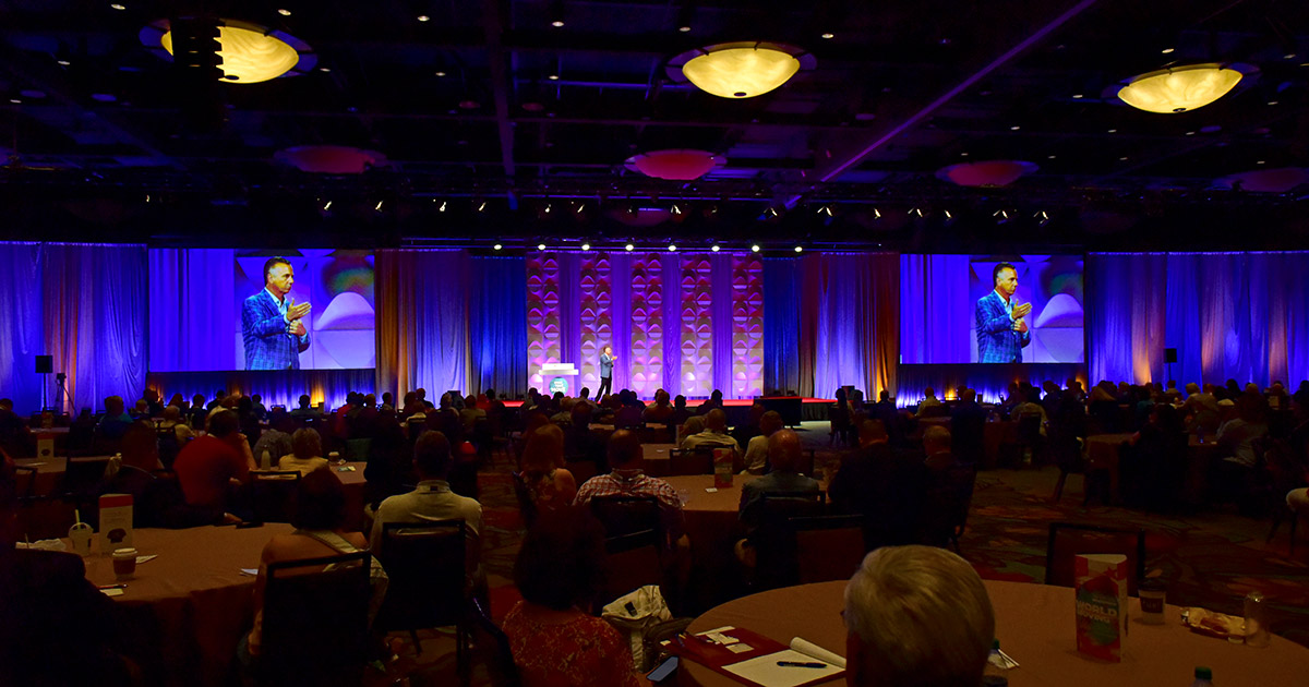 Scenes from Wednesday at ACUC 2019