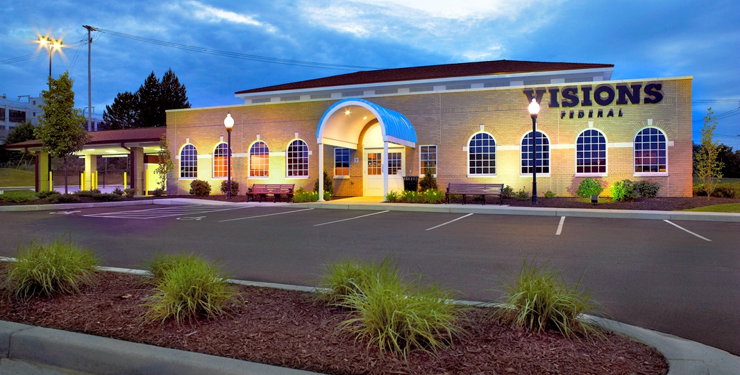 Visions FCU Johnson City exterior