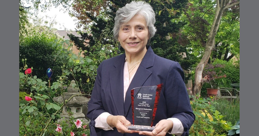 Margaret Delmonico named 2020 Credit Union Hero of the Year