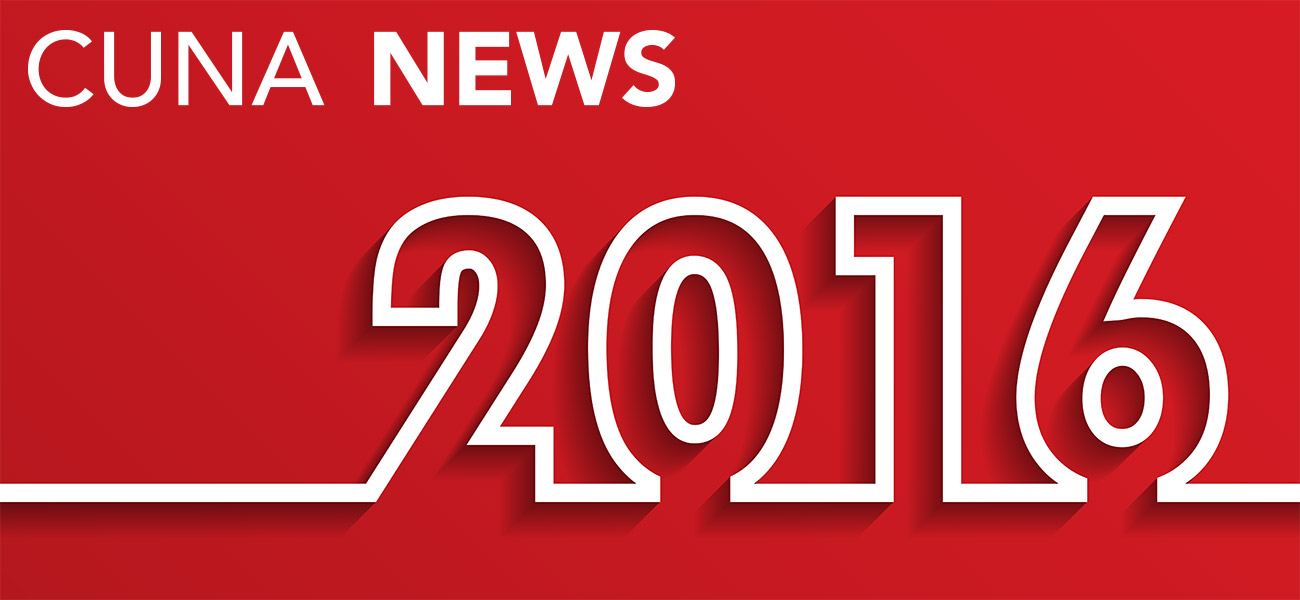 Top 10 CUNA News Articles of 2016