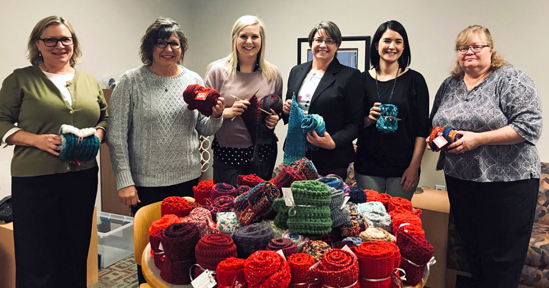 'Knit for a purpose'