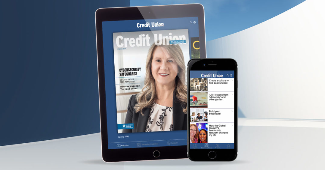 Credit Union Magazine app offers new features