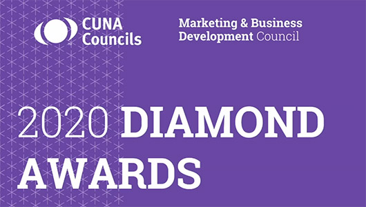 CUNA Marketing and Business Development Council's virtual Diamond Awards