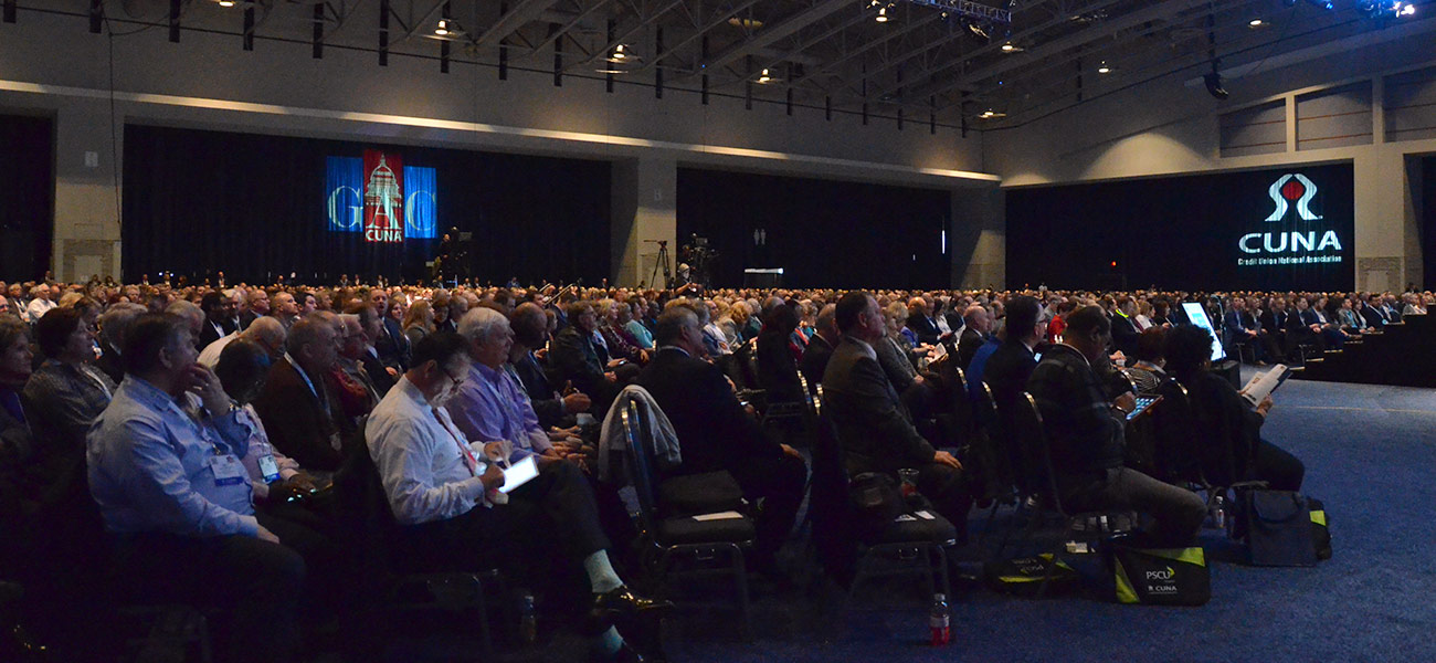 General Session Crowd at the 2016 GAC