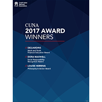 CUNA 2017 Award Winners