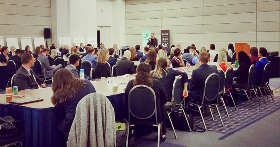 Record-breaking 100 young CU professionals 'Crash the GAC'