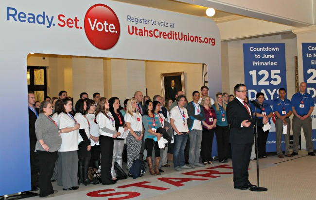 Utah voter registration drive
