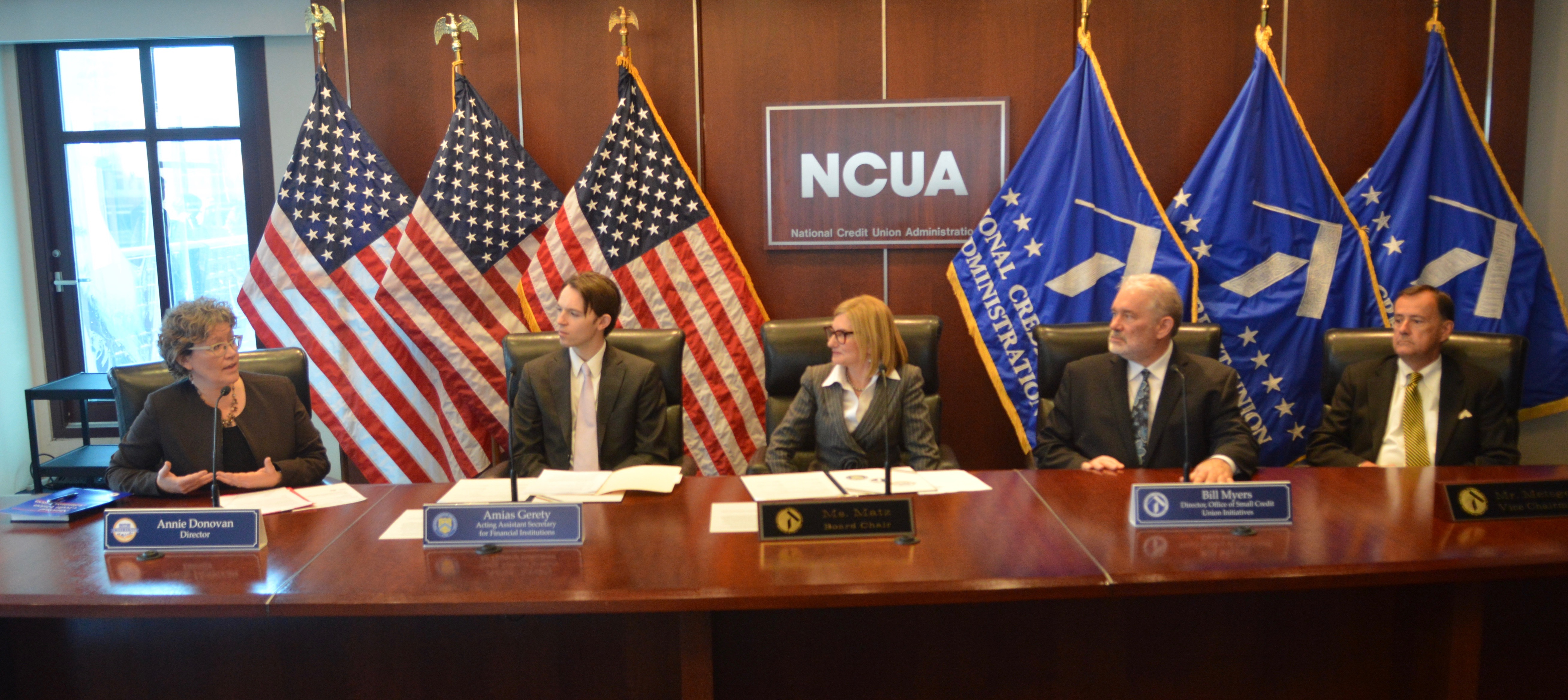 NCUA and Treasury