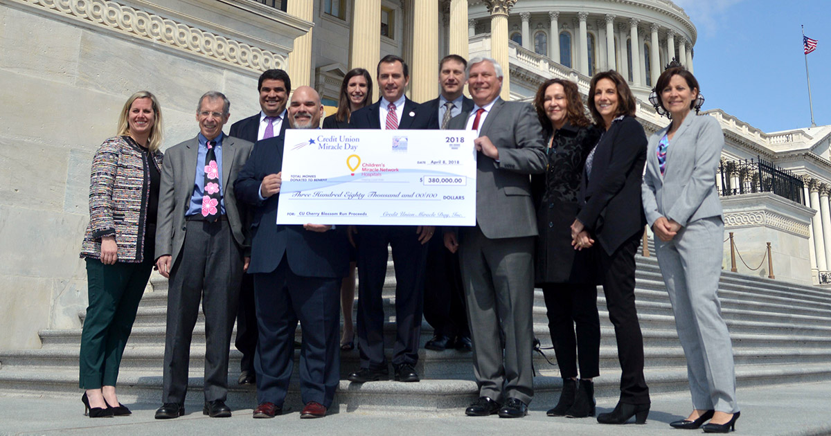 CMN receives $380K from CUs before Cherry Blossom Run
