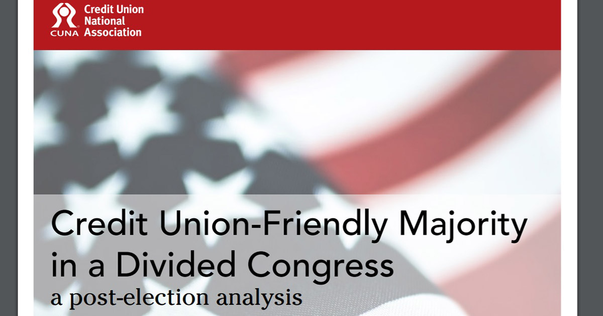 CUNA election whitepaper highlights election's impact on CUs