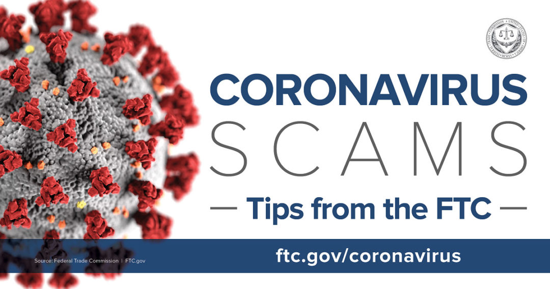 FTC issues warning about COVID-19 money scams