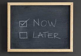 Be Decisive and Stop Procrastinating: Eight Steps