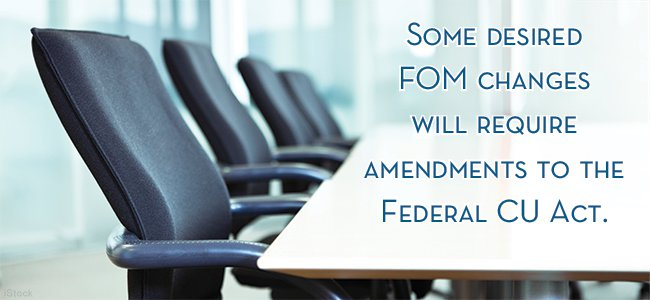 NCUA's Review of FOM Restrictions Gathers Steam