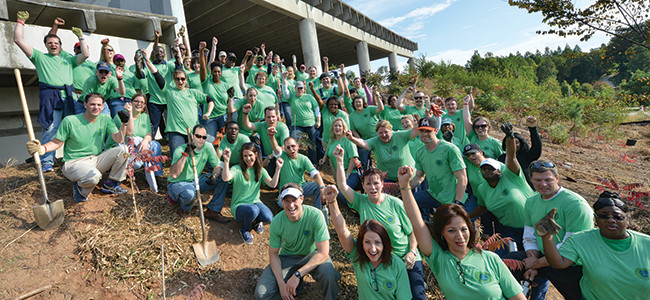 Employees Stand Up for the Environment