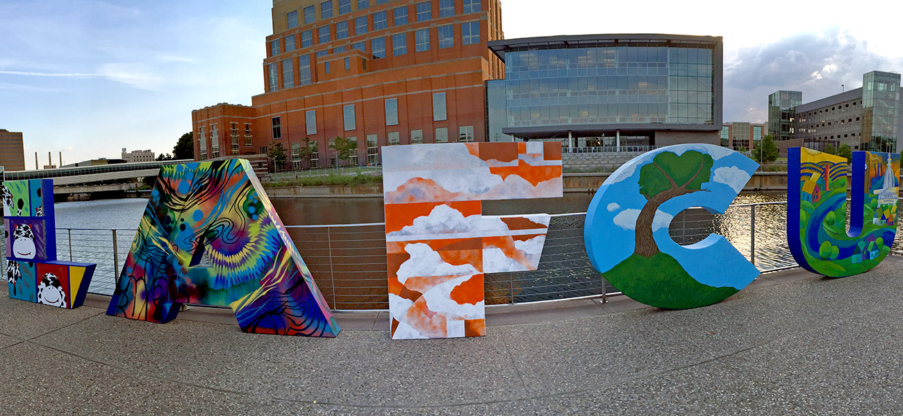 CU's name becomes community art