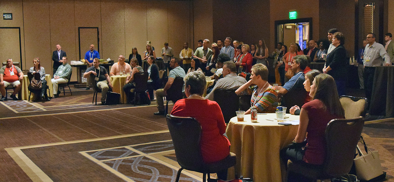 First-time attendees gather at CUNA Lending Council Conference
