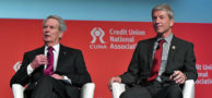 Walter Jones (R-N.C.) and Kurt Schrader (D-Ore.) at GAC 2017