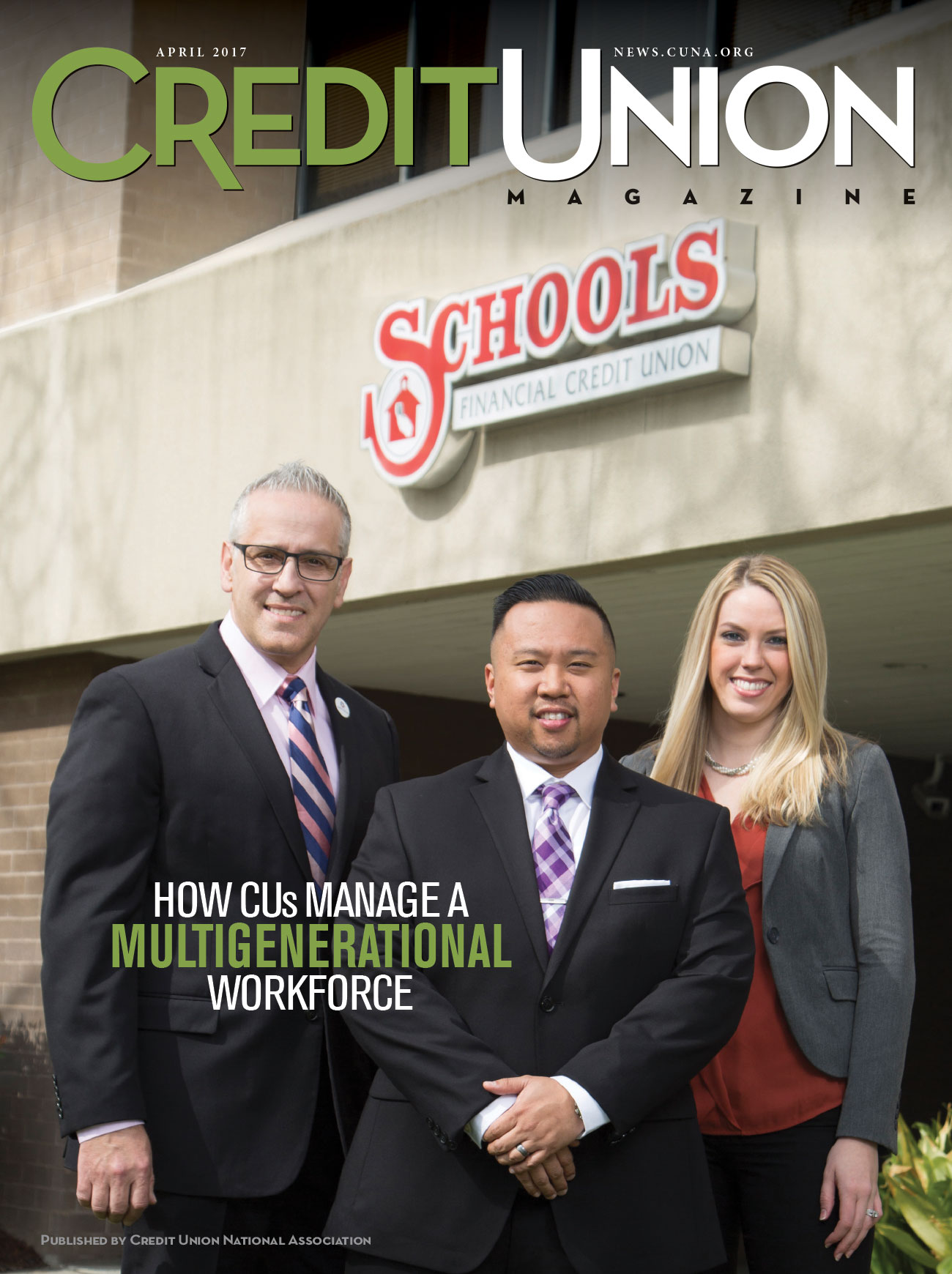 Credit Union Magazine - April 2017