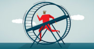 Get off the lending hamster wheel