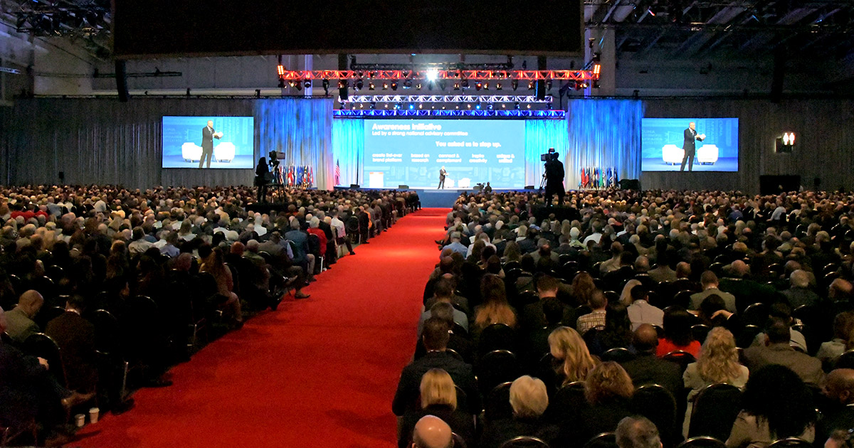 Bush address leads inspirational lineup during Monday's GAC