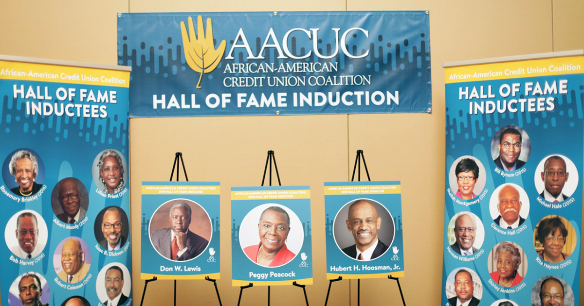 African American CU Coalition inducts 3 into Hall of Fame