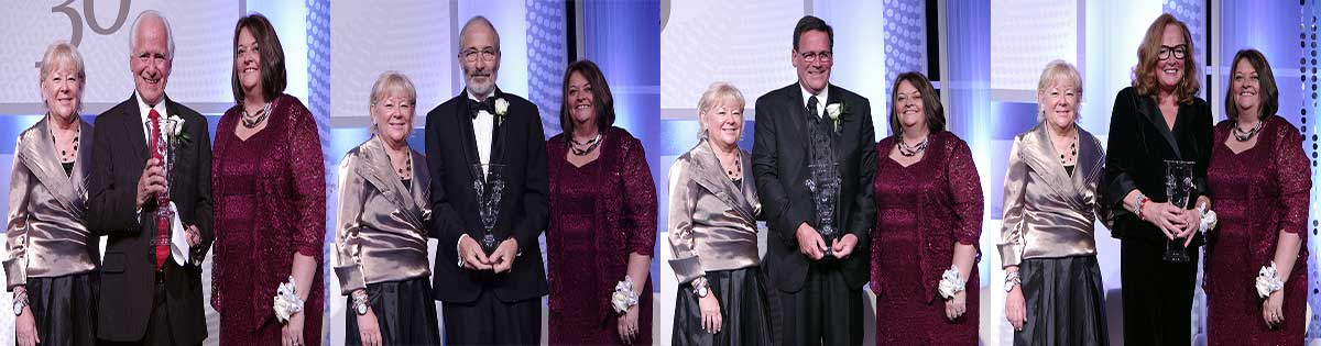 Castro, Hampel, Purvis and Mitchell Honored by Foundation