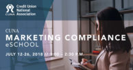CUNA Marketing Compliance eSchool set for July