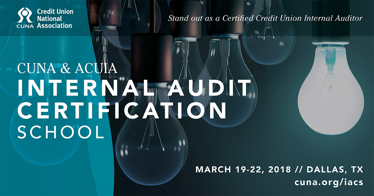 87 earn Certified Credit Union Internal Auditor designation