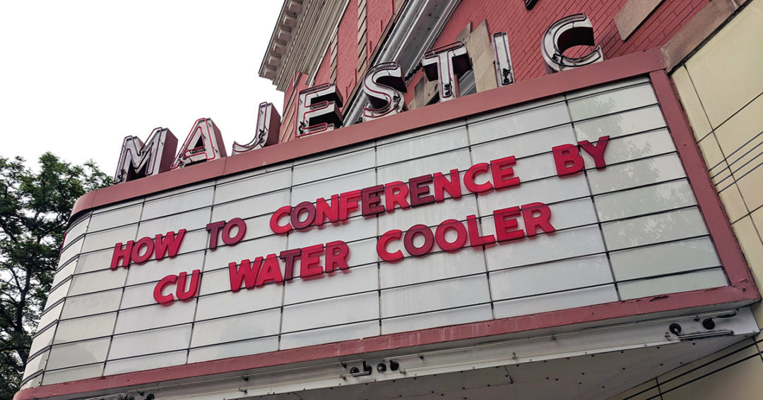 Scenes from CU Water Cooler How To Conference 2018