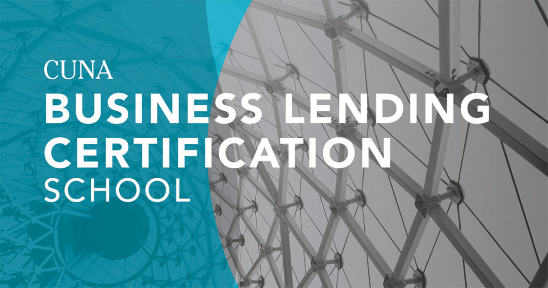 41 certified as Credit Union Business Lending Professionals