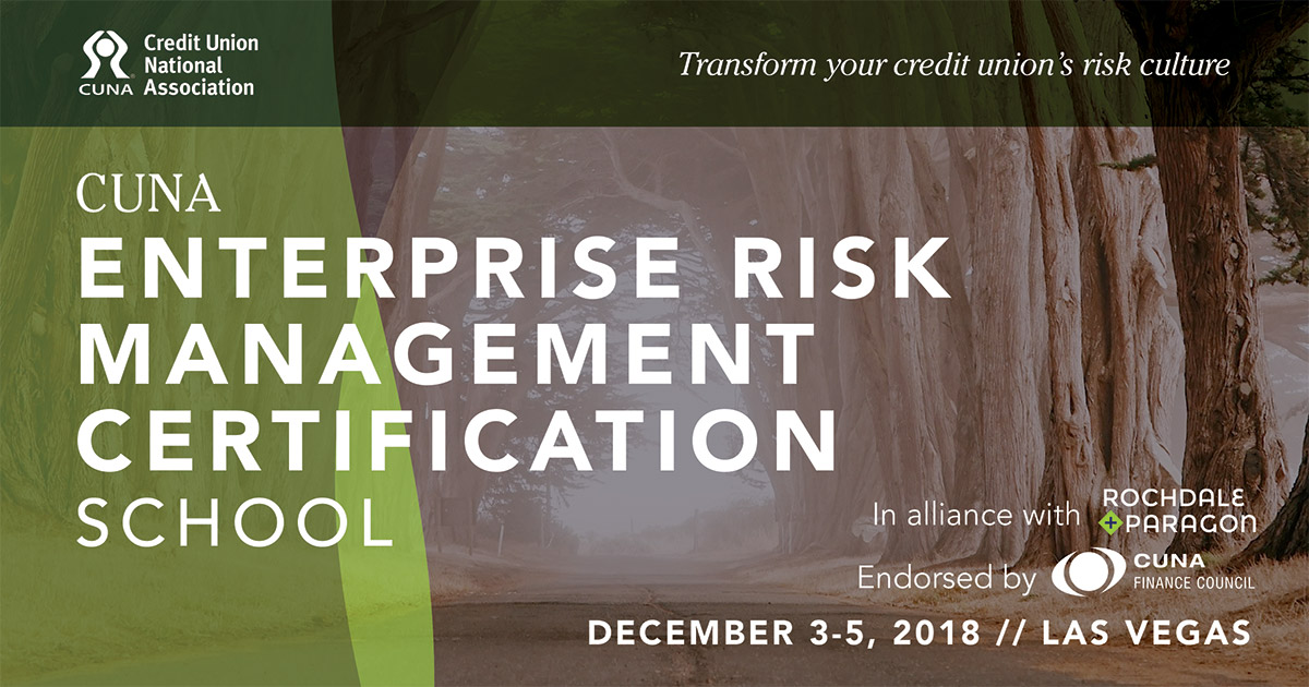 CUNA ERM Certification School set for Las Vegas