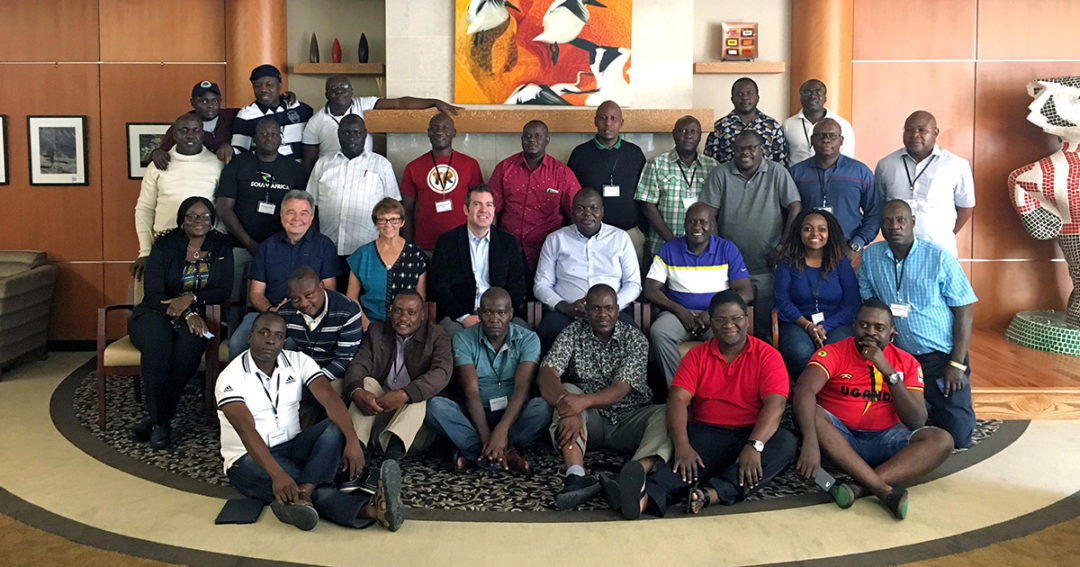 CU Difference hosts African contingent