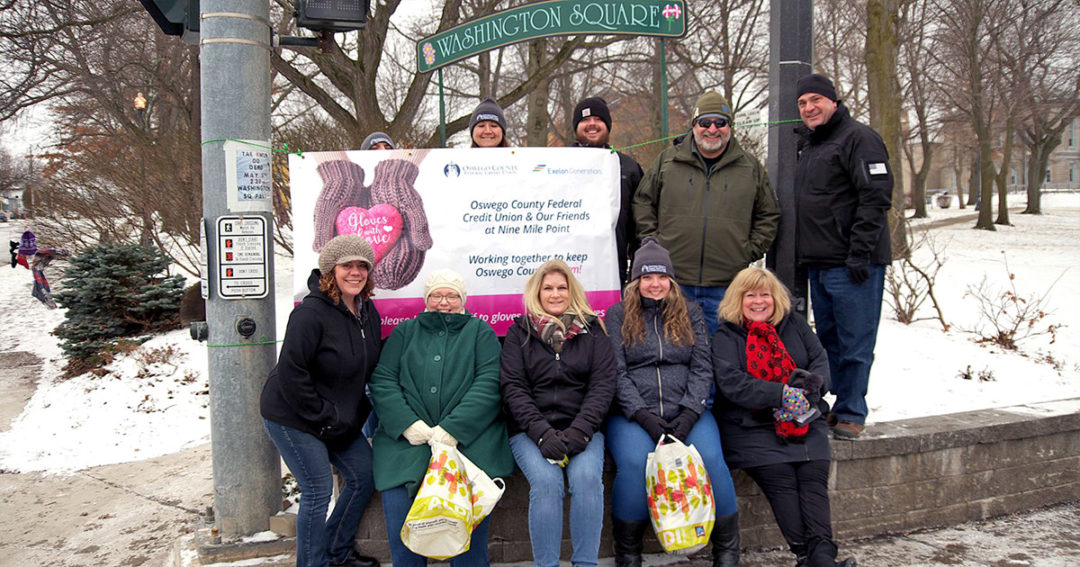 'Gloves and Love' for the community