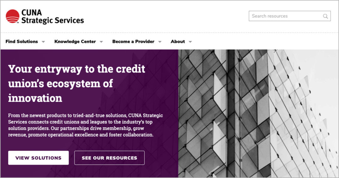 CUNA Strategic Services launches new website