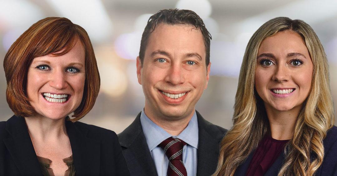 Marci Kawski, Scott Helfand, and Natalia Kruse