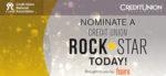 Nominate a Credit Union Rock Star Today!