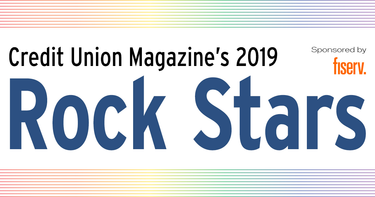 Credit Union Magazine's 2019 Rock Stars