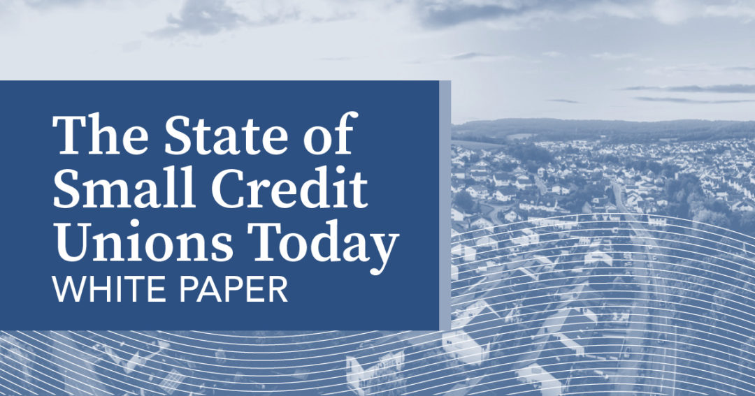 The State of Small Credit Unions Today
