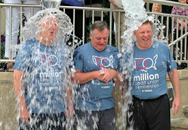 CUNA, NCUF Board Members Take ALS Ice Bucket Challenge