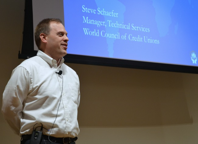 Steve Schaefer WOCCU Town Hall