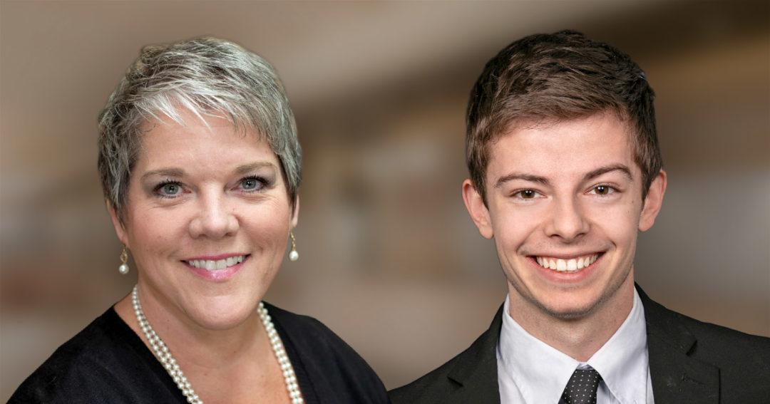 Karen Maxfield and Josh Harden