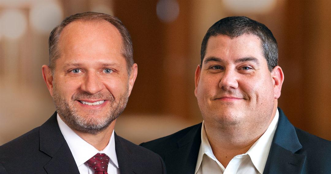 Steve Schmitz and Eric Bruen
